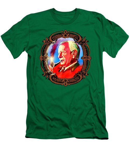J. R. R. Tolkien With A Mount Doom Pipe  Men's T-Shirt (Athletic Fit)