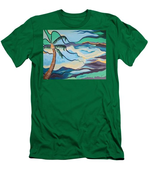 Jamaican Sea Breeze Men's T-Shirt (Athletic Fit)