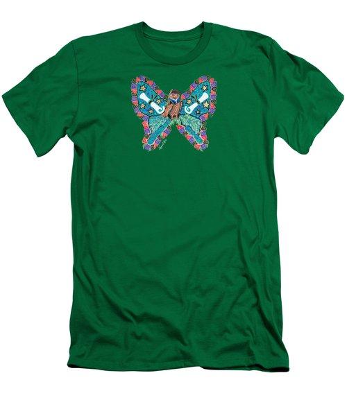June Butterfly Men's T-Shirt (Athletic Fit)