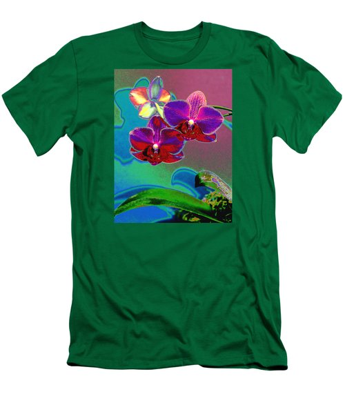 Men's T-Shirt (Slim Fit) featuring the photograph Just Open 2 by M Diane Bonaparte