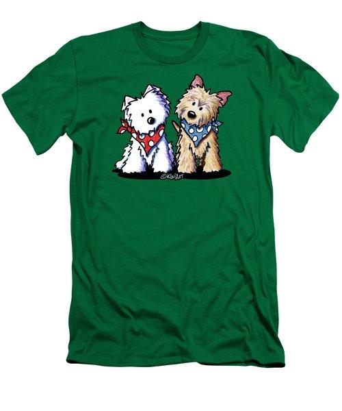 Kiniart Butch And Sundance Men's T-Shirt (Slim Fit)