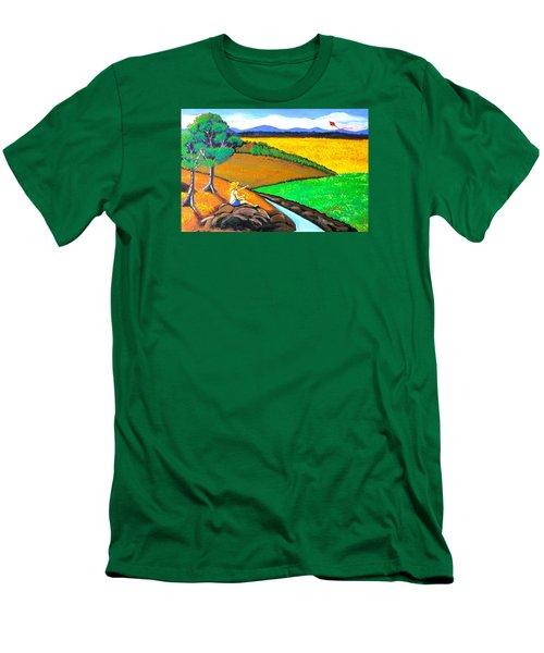 Kite Men's T-Shirt (Athletic Fit)