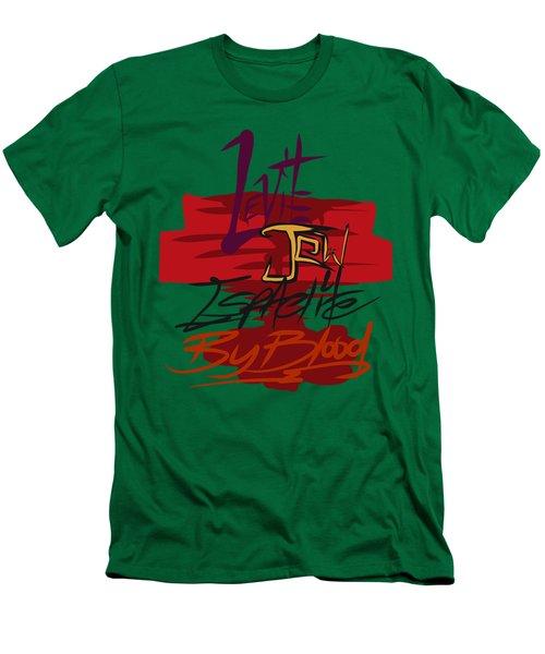 Levite By Blood Men's T-Shirt (Athletic Fit)