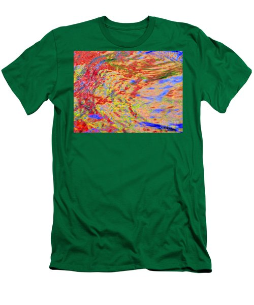 Listening To The Water Men's T-Shirt (Athletic Fit)