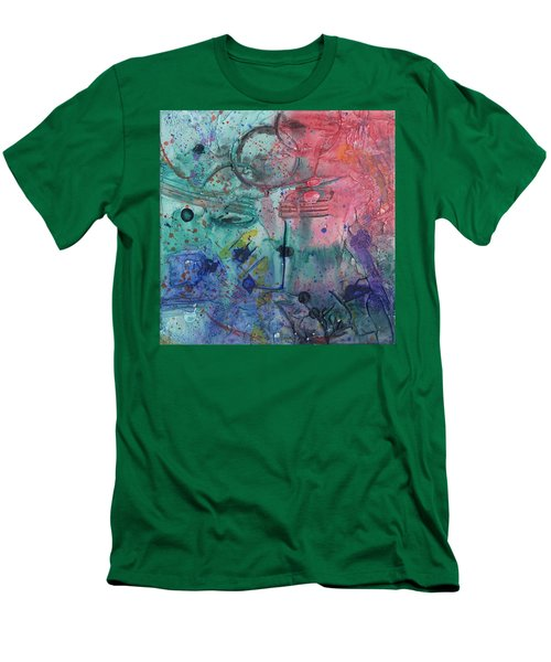 Lost Paradise Men's T-Shirt (Slim Fit) by Phil Strang