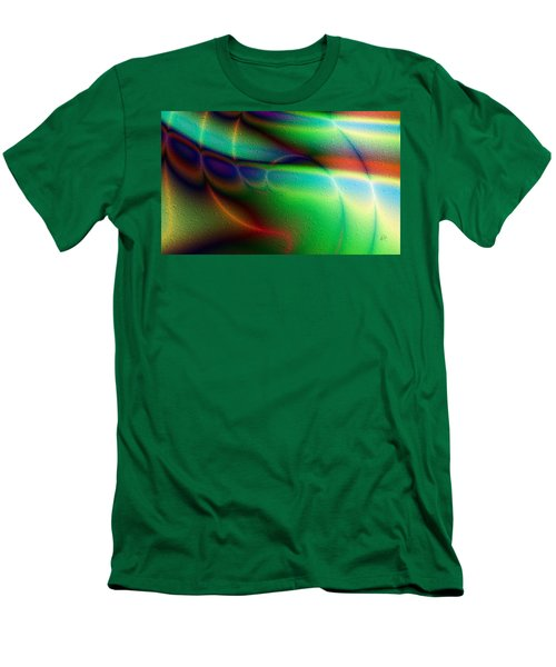 Luces Coloridas Men's T-Shirt (Athletic Fit)