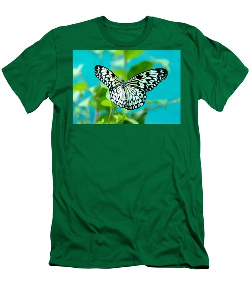 Men's T-Shirt (Slim Fit) featuring the photograph Mangrove Tree Nymph by Jenny Rainbow