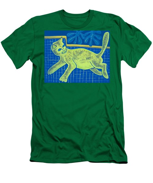 Matisse's Cat In Reverse Men's T-Shirt (Athletic Fit)