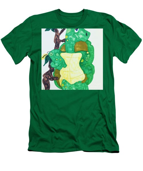 Mr. Turtle  Men's T-Shirt (Athletic Fit)