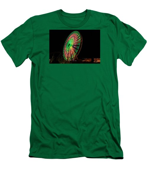 Ocean City Ferris Wheel Men's T-Shirt (Athletic Fit)