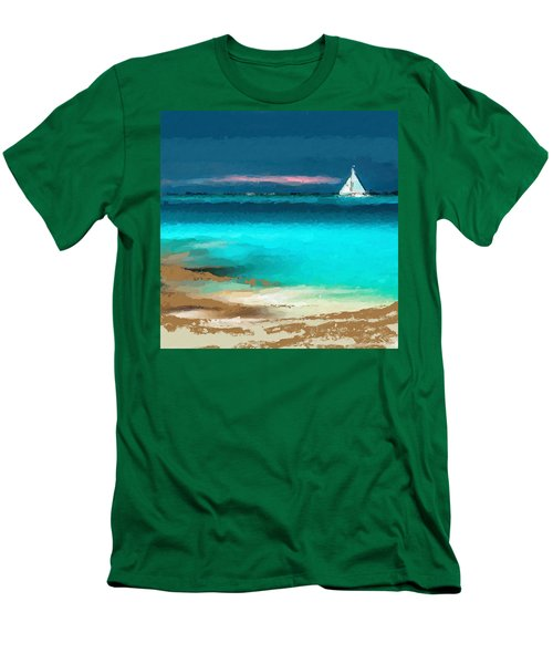 Sailing Just Offshore Men's T-Shirt (Athletic Fit)