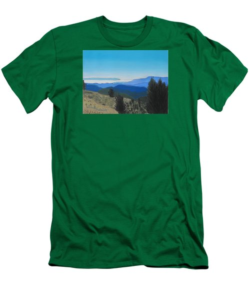 Santa Cruz Mountains Looking To Monterey Bay Men's T-Shirt (Athletic Fit)