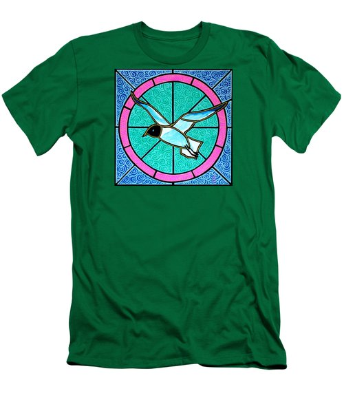 Seagull 4 Men's T-Shirt (Slim Fit) by Jim Harris