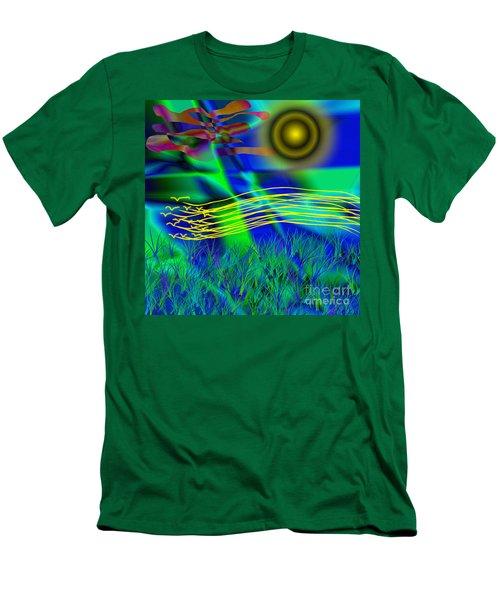 Sky Of Mind Men's T-Shirt (Athletic Fit)