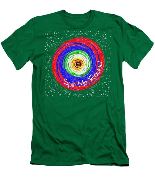 Spin Me 'round Men's T-Shirt (Athletic Fit)