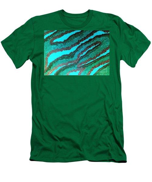 Spirit Journey Peaceful Restoration  Men's T-Shirt (Slim Fit) by Rachel Hannah