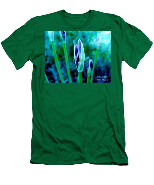 Men's T-Shirt (Slim Fit) featuring the photograph Spring Erupting Early by Marsha Heiken