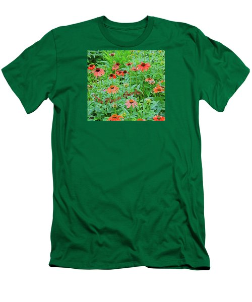 The Flower Garden Men's T-Shirt (Athletic Fit)