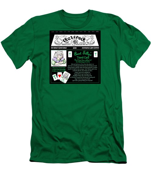 Real Fake News Tilly's Travel Card Men's T-Shirt (Slim Fit) by Dawn Sperry