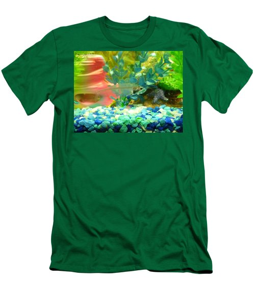 Transparent Catfish Men's T-Shirt (Athletic Fit)
