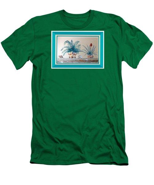 Trompe L'oeil Plants Men's T-Shirt (Athletic Fit)