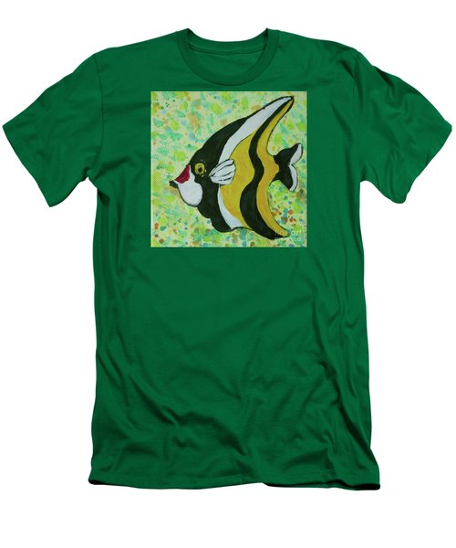 Tropical Fish Series 1 Of 4 Men's T-Shirt (Athletic Fit)