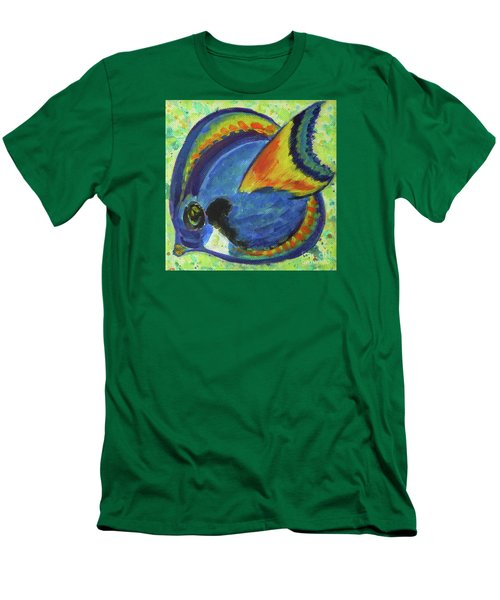 Tropical Fish Series 3 Of 4 Men's T-Shirt (Athletic Fit)