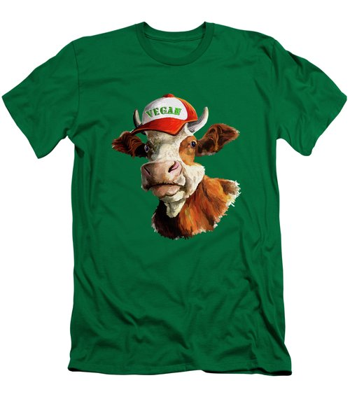 Vegan Men's T-Shirt (Slim Fit) by Anthony Mwangi