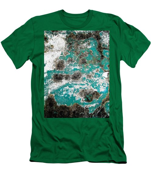 Wall Abstract 171 Men's T-Shirt (Slim Fit) by Maria Huntley
