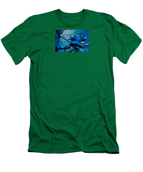 Men's T-Shirt (Slim Fit) featuring the photograph Winter Magic by Susanne Van Hulst