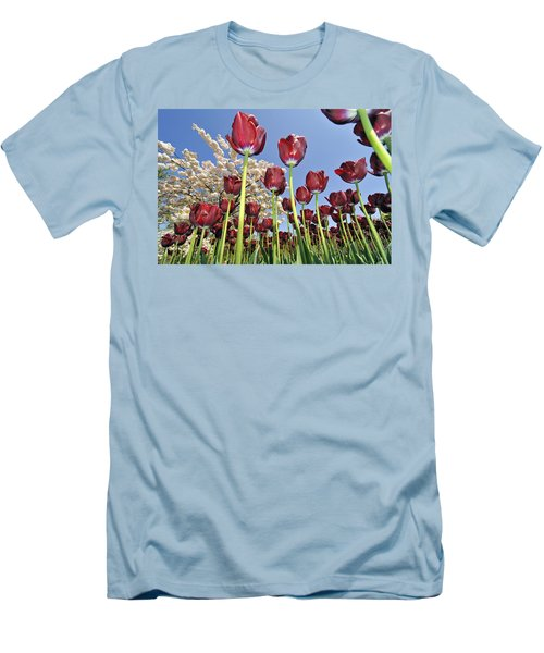 Men's T-Shirt (Slim Fit) featuring the photograph 090416p029 by Arterra Picture Library