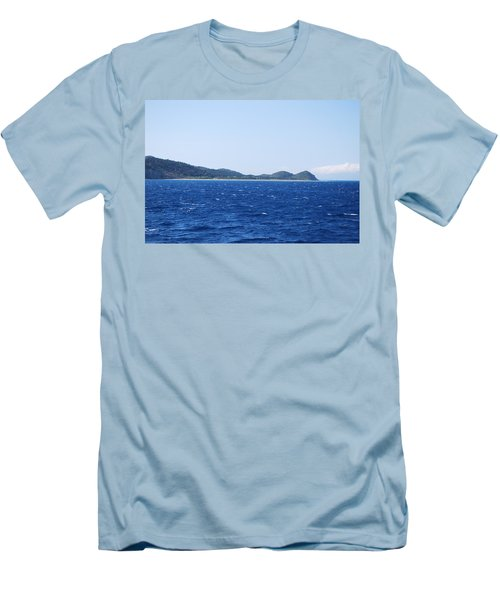 Bragini Beach Men's T-Shirt (Athletic Fit)