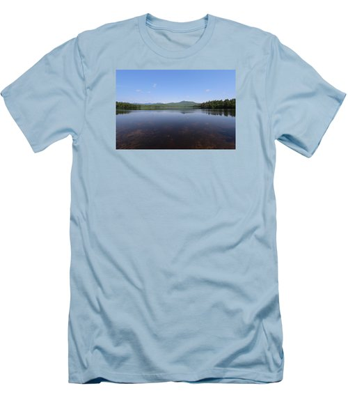 Chororua  Lake Men's T-Shirt (Athletic Fit)