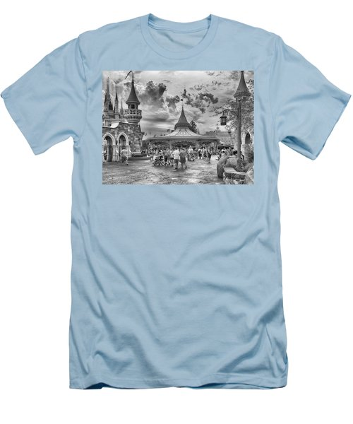 Men's T-Shirt (Slim Fit) featuring the photograph Fantasyland by Howard Salmon