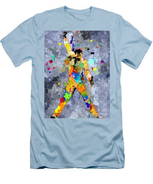 Freddie Mercury Men's T-Shirt (Slim Fit) by Daniel Janda