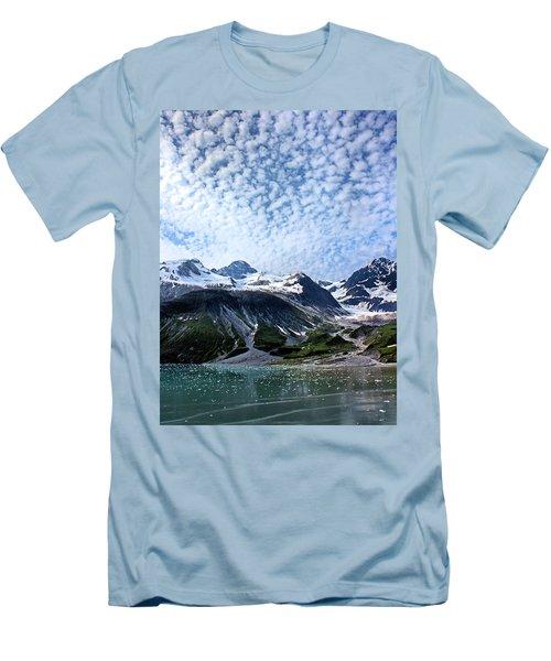 Men's T-Shirt (Slim Fit) featuring the photograph Glacier Bay Beautiful by Kristin Elmquist