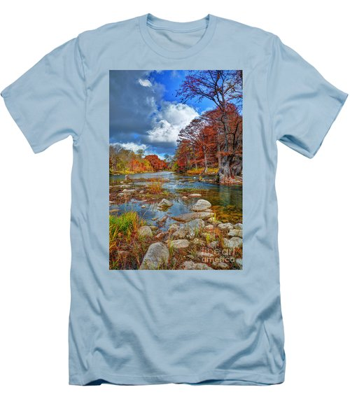 Guadalupe In The Fall Men's T-Shirt (Athletic Fit)