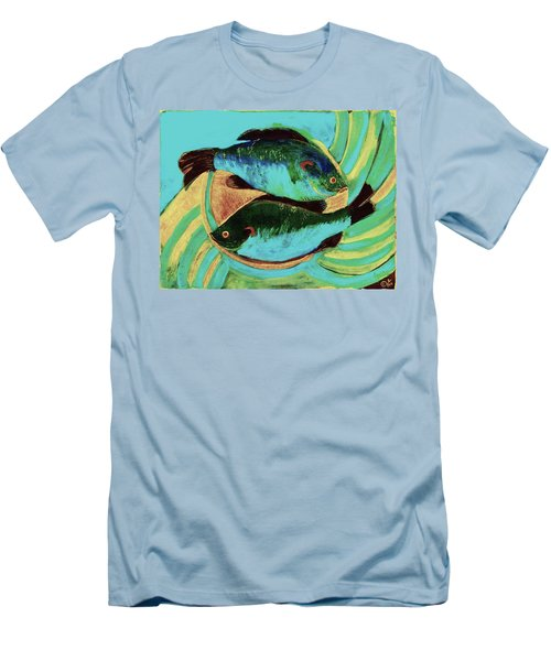 Lake Martin  Fish Men's T-Shirt (Athletic Fit)
