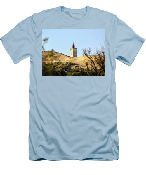 Lighthouse Men's T-Shirt (Slim Fit) by Mike Santis