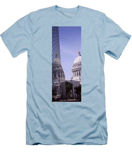 Low Angle View Of A Government Men's T-Shirt (Slim Fit) by Panoramic Images