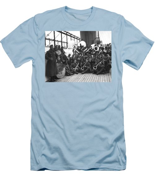 Lt. James Reese Europe's Band Men's T-Shirt (Athletic Fit)