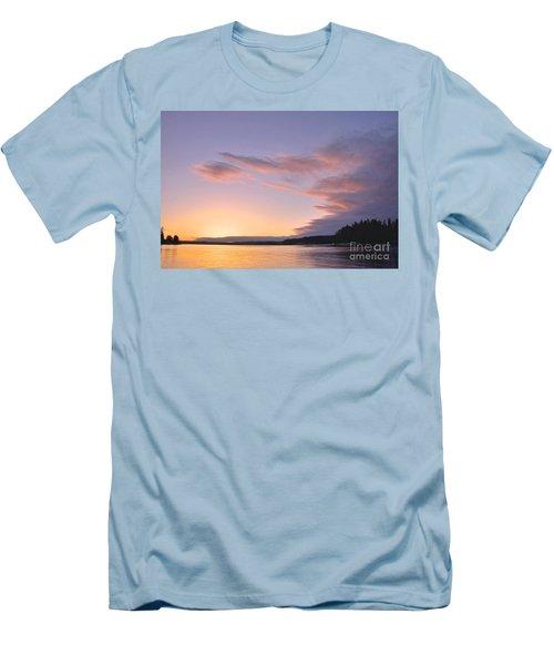 On Puget Sound - 2 Men's T-Shirt (Slim Fit) by Sean Griffin