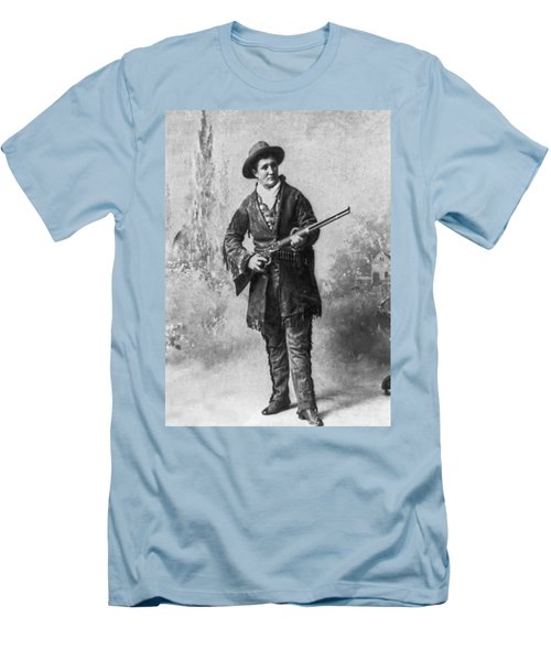 Portrait Of Calamity Jane Men's T-Shirt (Slim Fit)