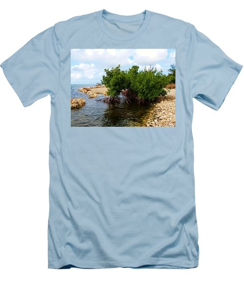 Men's T-Shirt (Slim Fit) featuring the photograph Reclamation 7 by Amar Sheow