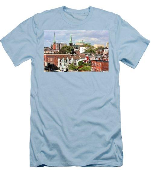 Saint John New Brunswick Men's T-Shirt (Slim Fit) by Kristin Elmquist
