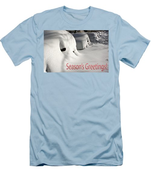 Season's Greetings Men's T-Shirt (Athletic Fit)