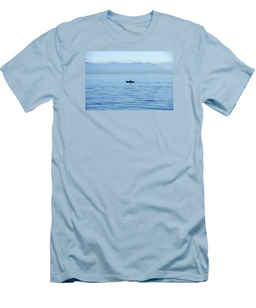Serenity Men's T-Shirt (Slim Fit) by Marilyn Wilson