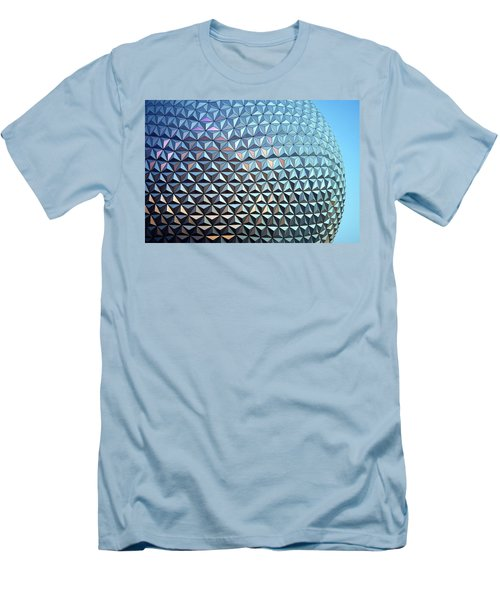 Men's T-Shirt (Slim Fit) featuring the photograph Spaceship Earth by Cora Wandel