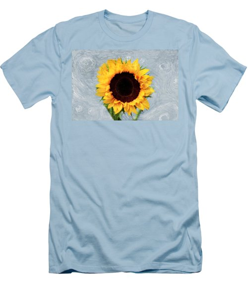 Men's T-Shirt (Slim Fit) featuring the photograph Sunflower by Bill Howard