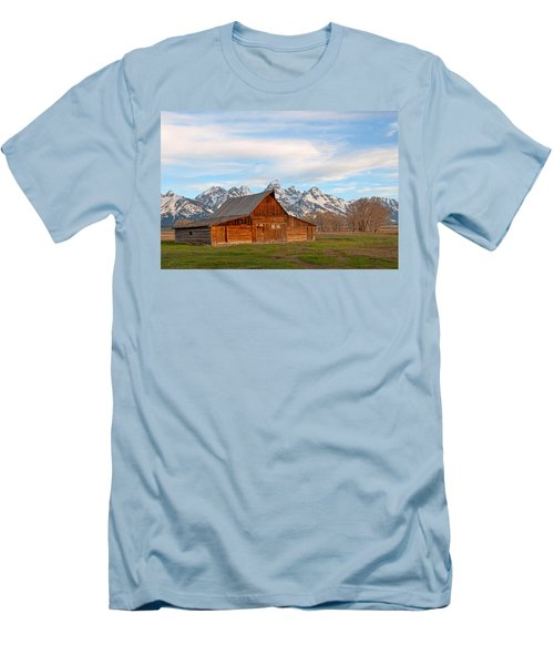 Teton Barn Men's T-Shirt (Athletic Fit)